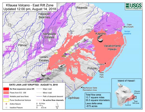 2018 August 14_East Rift Zone Lava
